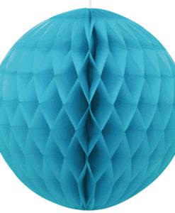 blauwe honeycomb bal