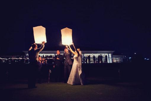 oplaten wensballonnen huwelijk