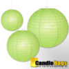 groene lampion van 35cm