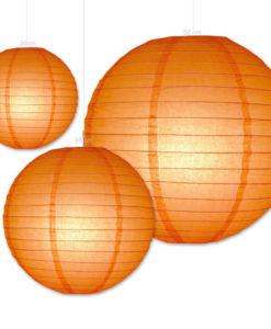 lampion oranje verkrijgbaar in diverse formaten