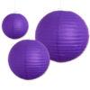 Lampion paars verkrijgbaar in 3 formaten