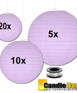 lila lampionnen voordeelpakket