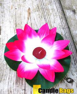 lotusbloem-candy-roze-wit-polyester