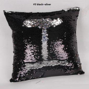 mermaid-kussen-zilver-zwart