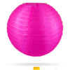 Candy roze nylon lampion