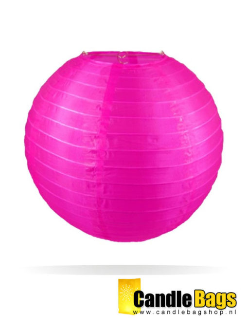 Candy roze nylon lampion