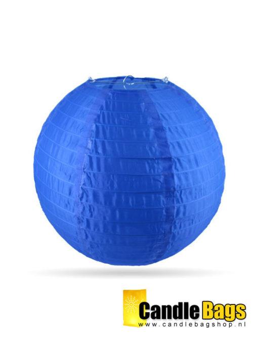 donker blauwe nylon lampion