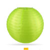 nylon lampion lime groen