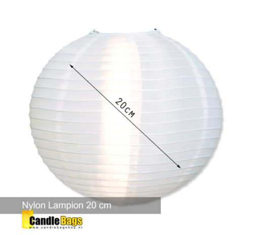 Lampion nylon 20cm