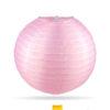 zacht roze nylon lampion