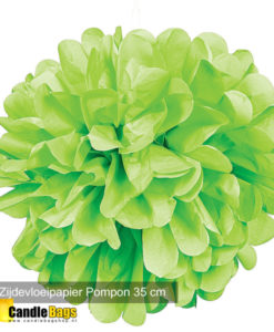 pom pom groen 35cm