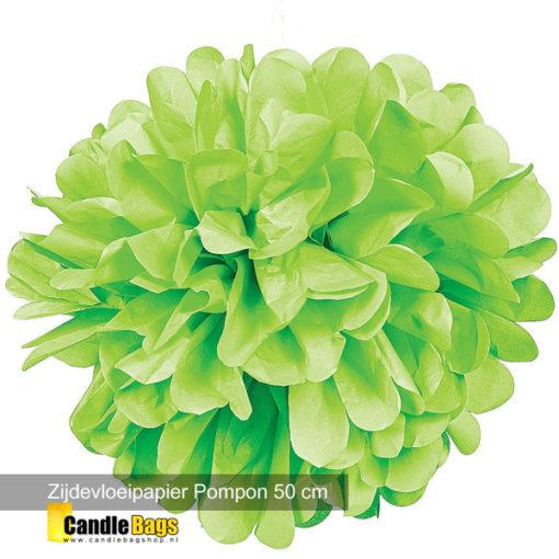 pompom groen 50