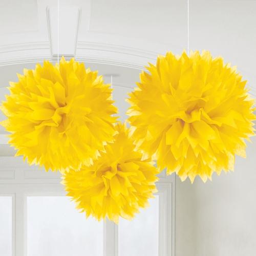 pompon-geel1