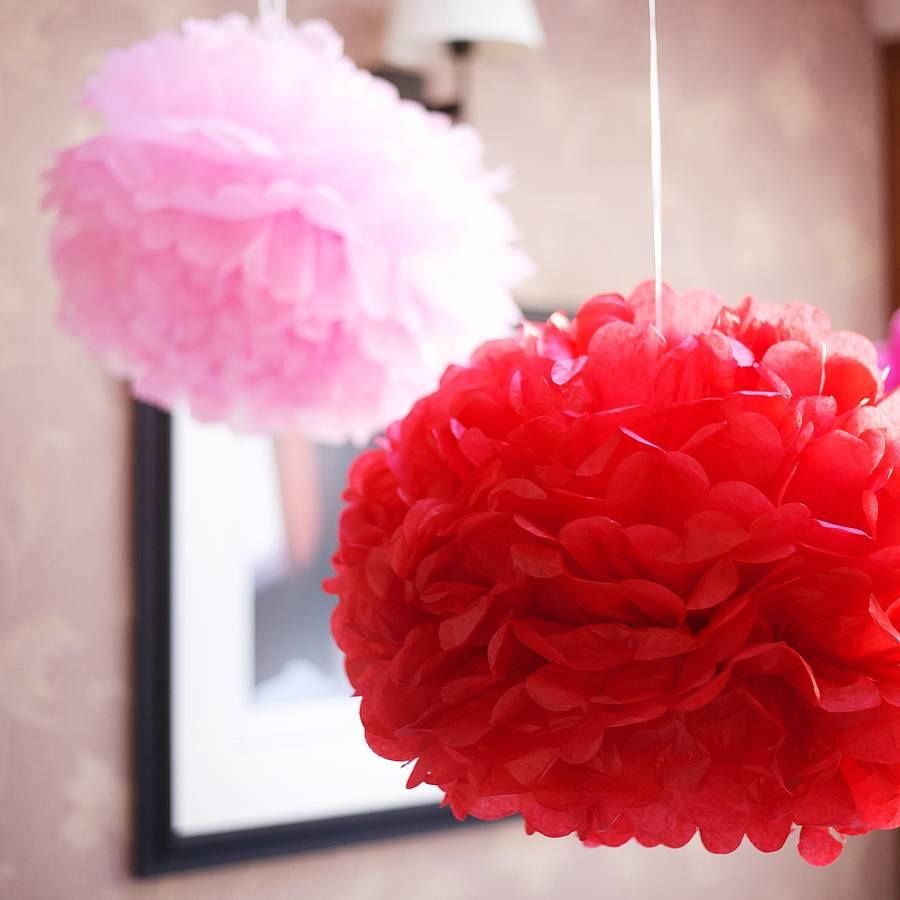 pompon rood1