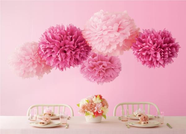 pompon-roze1