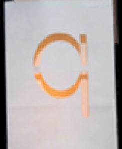 candlebag met een q