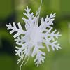 3D sneeuwvlok kerst