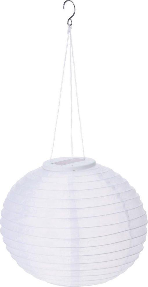lampion op zonne energie en warm witte verlichting