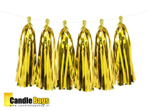 tassel garland slinger goud