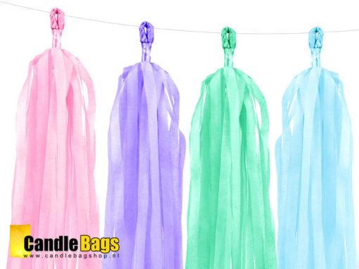 DIY Tassel slinger garland pastel 02