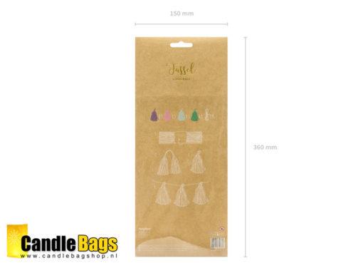 tassel slinger verpakking achterzijde