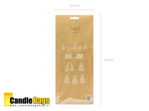tassel garland slinger DIY kit
