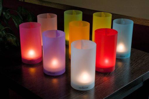 candlecover uni kleuren