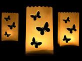 vlinder candlebag