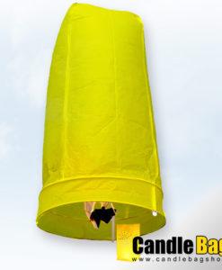 gele wensballon van de candlebagshop