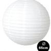 witte lampion van 65cm