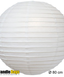 witte lampion van 80CM