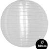 witte nylon lampion voor buiten 80cm
