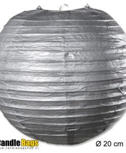zilveren lampion
