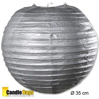 zilveren lampionnen met doorsnede van 35 cm